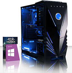 VIBOX Hammer 24 - 3.5GHz AMD Six Core, Gaming PC (Radeon R7 260X, 8GB RAM, 2TB, Windows 8.1) PC