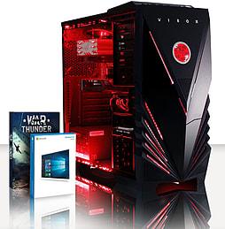 VIBOX Transcend 47 - 3.9GHz AMD Six Core, Gaming PC (Radeon R7 260X, 8GB RAM, 3TB, Windows 8.1) PC