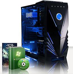 VIBOX Hound 6 - 3.9GHz AMD Six Core, Gaming PC (Radeon R9 270, 16GB RAM, 3TB, No Windows) PC
