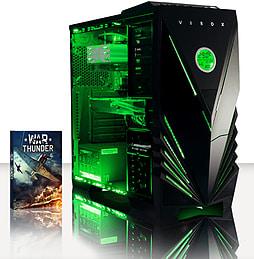 VIBOX Hound 17 - 3.9GHz AMD Six Core, Gaming PC (Radeon R9 270, 8GB RAM, 3TB, No Windows) PC