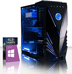 VIBOX Hound 40 - 3.9GHz AMD Six Core, Gaming PC (Radeon R9 270, 16GB RAM, 2TB, Windows 8.1) PC
