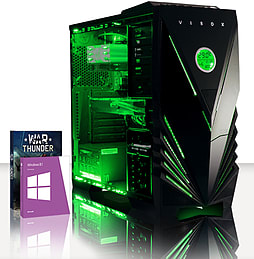 VIBOX Hound 50 - 3.9GHz AMD Six Core, Gaming PC (Radeon R9 270, 16GB RAM, 1TB, Windows 8.1) PC