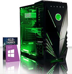 VIBOX Hound 53 - 3.9GHz AMD Six Core, Gaming PC (Radeon R9 270, 8GB RAM, 3TB, Windows 8.1) PC