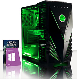VIBOX Spark 9 - 3.9GHz AMD Six Core, Gaming PC (Nvidia Geforce GTX 960, 16GB RAM, 2TB, Windows 8.1) PC