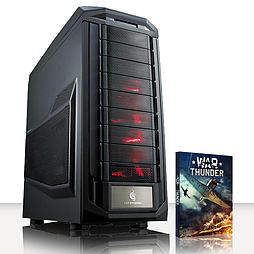 VIBOX Crosshair 1 - 3.9GHz AMD Six Core Gaming PC (Nvidia Geforce GTX 970, 8GB RAM, 1TB, No Windows) PC