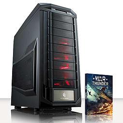 VIBOX Crosshair 3 - 3.9GHz AMD Six Core Gaming PC (Nvidia Geforce GTX 970, 8GB RAM, 2TB, No Windows) PC