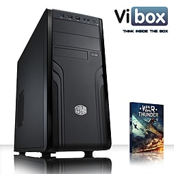 VIBOX Work Station 2 - 4.0GHz AMD Eight Core, Gaming PC (AMD 760G, 8GB RAM, 1TB, No Windows) PC