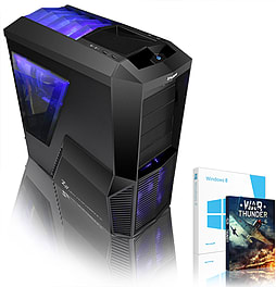 VIBOX Versatile 48 - 4.0GHz AMD Eight Core Gaming PC (Nvidia GT 730, 32GB RAM, 3TB, Windows 8.1) PC