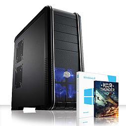 VIBOX Versatile 64 - 4.0GHz AMD Eight Core Gaming PC (Nvidia GT 730, 32GB RAM, 3TB, Windows 8.1) PC