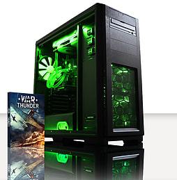 VIBOX War Lord 7 - 4.2GHz AMD Six Core, Gaming PC (Nvidia Geforce GTX 750, 8GB RAM, 1TB, No Windows) PC
