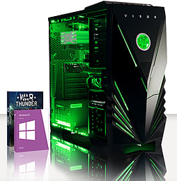 VIBOX War Lord 54 - 4.0GHz AMD Eight Core, Gaming PC (Radeon R7 240, 16GB RAM, 3TB, Windows 8.1) PC