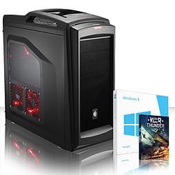 VIBOX Dominator 57 - 4.0GHz AMD Eight Core Gaming PC (Nvidia GTX 750, 8GB RAM, 1TB, Windows 8.1) PC