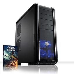 VIBOX Retaliator 39 - 4.0GHz AMD Eight Core Gaming PC (Nvidia GTX 750 Ti, 16GB RAM, 3TB, No Windows) PC