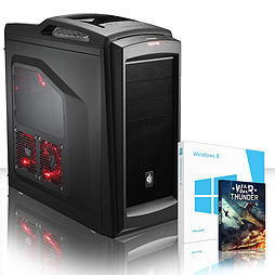 VIBOX Retaliator 61 - 4.0GHz AMD Eight Core Gaming PC (Nvidia GTX 750Ti, 32GB RAM, 2TB, Windows 8.1) PC