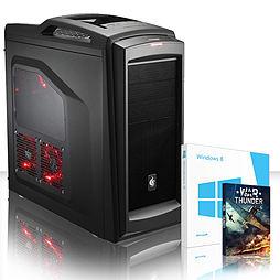 VIBOX Retaliator 62 - 4.0GHz AMD Eight Core Gaming PC (Nvidia GTX 750 Ti, 8GB RAM, 3TB, Windows 8.1) PC