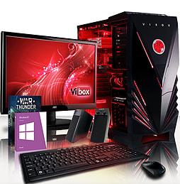 VIBOX Saturn 43 - 4.0GHz AMD Eight Core Gaming PC Package (Radeon R7 250, 8GB RAM, 1TB, Windows 8.1) PC