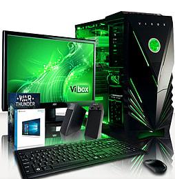 VIBOX Cosmos 49 - 4.0GHz AMD Eight Core Gaming PC Pack (Radeon R7 260X, 8GB RAM, 1TB, Windows 8.1) PC