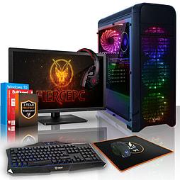 VIBOX Power FX 32 - 4.0GHz AMD Eight Core Gaming PC (Radeon R7 260X, 16GB RAM, 1TB, Windows 7) PC