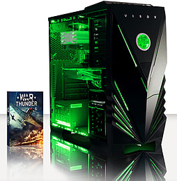VIBOX Pulsar 17 - 4.0GHz AMD Eight Core, Gaming PC (Radeon R9 270, 8GB RAM, 3TB, No Windows) PC