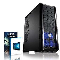 VIBOX Nuclear 92 - 4.0GHz AMD Eight Core, Gaming PC (Radeon R9 270X, 16GB RAM, 3TB, Windows 8.1) PC