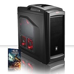 VIBOX Nuclear 104 - 4.0GHz AMD Eight Core, Gaming PC (Radeon R9 270X, 8GB RAM, 2TB, No Windows) PC