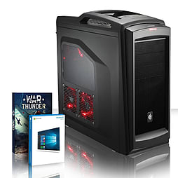 VIBOX Explosion 124 - 4.0GHz AMD Eight Core, Gaming PC (Radeon R9 290, 8GB RAM, 3TB, Windows 8.1) PC