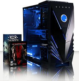 VIBOX Mercury 6 - 4.0GHz AMD Eight Core Gaming PC (Nvidia GTX 960, 16GB RAM, 2TB, No Windows) PC