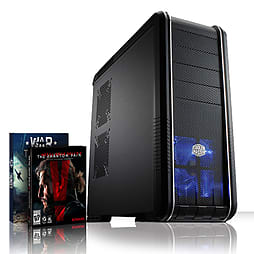 VIBOX Mercury 52 - 4.0GHz AMD Eight Core Gaming PC (Nvidia GTX 960, 8GB RAM, 2TB, No Windows) PC