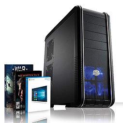 VIBOX Mercury 83 - 4.0GHz AMD Eight Core Gaming PC (Nvidia GTX 960, 8GB RAM, 3TB, Windows 10) PC