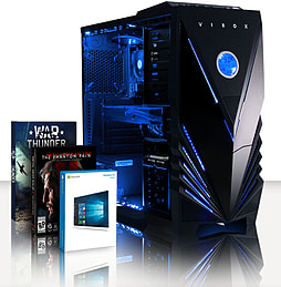 VIBOX Splendour 40 - 4.0GHz AMD Eight Core Gaming PC (Nvidia GTX 960, 16GB RAM, 3TB, Windows 8.1) PC