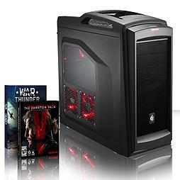 VIBOX Splendour 62 - 4.0GHz AMD Eight Core Gaming PC (Nvidia GTX 960, 16GB RAM, 3TB, No Windows) PC