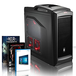 VIBOX Splendour 86 - 4.0GHz AMD Eight Core Gaming PC (Nvidia GTX 960, 8GB RAM, 3TB, Windows 10) PC