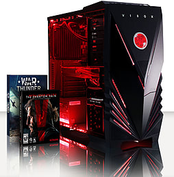 VIBOX Submission 29XSW - 4.0GHz AMD Eight Core Gaming PC (Nvidia GTX 960, 8GB RAM, 2TB, No Windows) PC