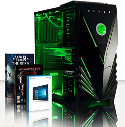 VIBOX Submission 29X - 4.0GHz AMD Eight Core Gaming PC (Nvidia GTX 960, 16GB RAM, 2TB, Windows 8.1) PC
