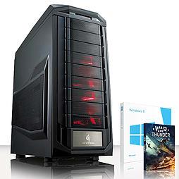 VIBOX Submission 44 - 4.0GHz AMD Eight Core, Gaming PC (Radeon R9 280X, 32GB RAM, 3TB, Windows 8.1) PC