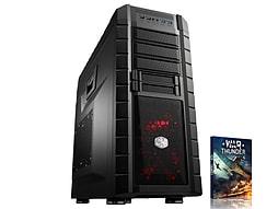 VIBOX Submission 55 - 4.0GHz AMD Eight Core, Gaming PC (Radeon R9 280X, 8GB RAM, 2TB, No Windows) PC