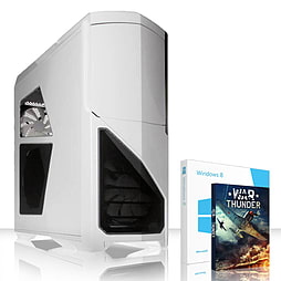 VIBOX Submission 123 - 4.0GHz AMD Eight Core, Gaming PC (Radeon R9 280X, 32GB RAM, 2TB, Windows 8.1) PC