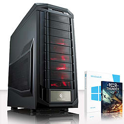 VIBOX Gravity 6 - 4.0GHz AMD Eight Core Gaming PC (Nvidia GTX 970, 8GB RAM, 1TB, Windows 8.1) PC
