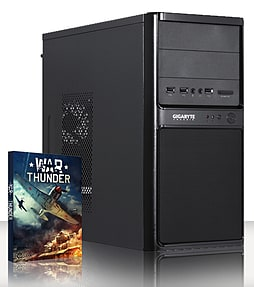 VIBOX Basics 8 - 2.8GHz Intel Dual Core Gaming PC (Nvidia GT 610, 8GB RAM, 500GB, Windows 10) PC