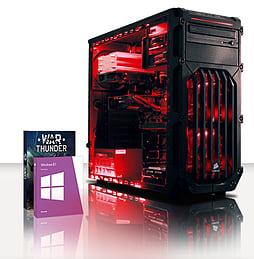 VIBOX Cerberus 11 - 4.4GHz Intel Dual Core Gaming PC (Nvidia GTX 750 Ti, 8GB RAM, 2TB, Windows 8.1) PC