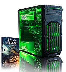 VIBOX Centre 4S - 4.0GHz AMD Quad Core Gaming PC (Nvidia Geforce GTX 750, 16GB RAM, 1TB, No Windows) PC