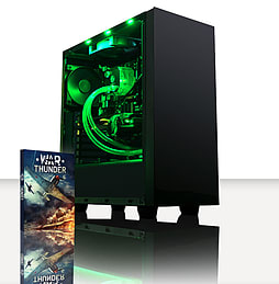 VIBOX Centre 4 - 4.0GHz AMD Quad Core, Gaming PC (Nvidia Geforce GTX 750, 8GB RAM, 1TB, No Windows) PC