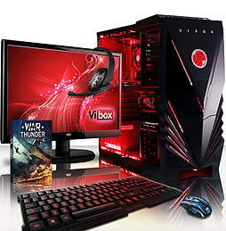 VIBOX Centre 4L - 4.0GHz AMD Quad Core Gaming PC Pack (Nvidia GTX 750, 32GB RAM, 1TB, No Windows) PC