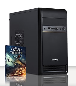 VIBOX Media 1 - 3.5GHz Intel Dual Core Gaming PC (Nvidia Geforce GT 610, 4GB RAM, 500GB, No Windows) PC