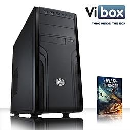 VIBOX Desk Buddy 1 - 3.3GHz INTEL Quad Core, Desktop PC (INTEL HD 4600, 4GB RAM, 500GB, No Windows) PC