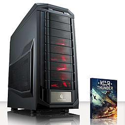 VIBOX Pinnacle 4 - 3.5GHz INTEL Quad Core, Gaming PC (Radeon R9 280X, 16GB RAM, 2TB, No Windows) PC