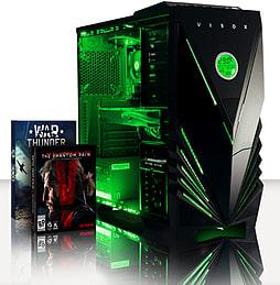 VIBOX Annihilator 9 - 4.0GHz Intel Quad Core Gaming PC (Nvidia GTX 960, 16GB RAM, 2TB, No Windows) PC