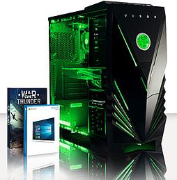 VIBOX Demon 6 - 4.0GHz INTEL Quad Core, Gaming PC (Radeon R9 270X, 8GB RAM, 1TB, Windows 8.1) PC