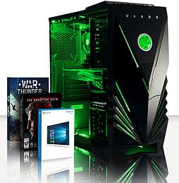 VIBOX Gladiator 6 - 3.5GHz Intel Quad Core Gaming PC (Nvidia GTX 960, 8GB RAM, 1TB, Windows 8.1) PC