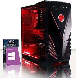 VIBOX Militus 6 - 3.5GHz INTEL Quad Core, Gaming PC (Radeon R9 270X, 8GB RAM, 1TB, Windows 8.1) PC
